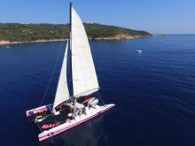 Catamaran Elle et Moi - 23 mètres