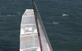 Sortie sensation trimaran de course - Regate du tour de Groix-5