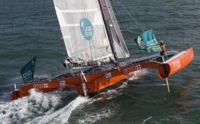 Sortie sensation trimaran de course - Regate du tour de Groix-7