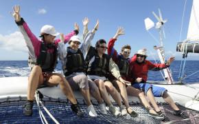 Sortie sensation trimaran de course - Regate du tour de Groix-1